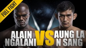 MMA | MMA FIGHT | ONEFC | PRIDE | ALAINNGALANI | AUNG LA NA SANG