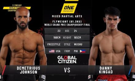 ONE: FULL FIGHT |Demetrious Johnson vs. Danny Kingad