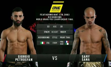ONE: FULL FIGHT | GIORGIO PETROSYAN VS. Samy sana